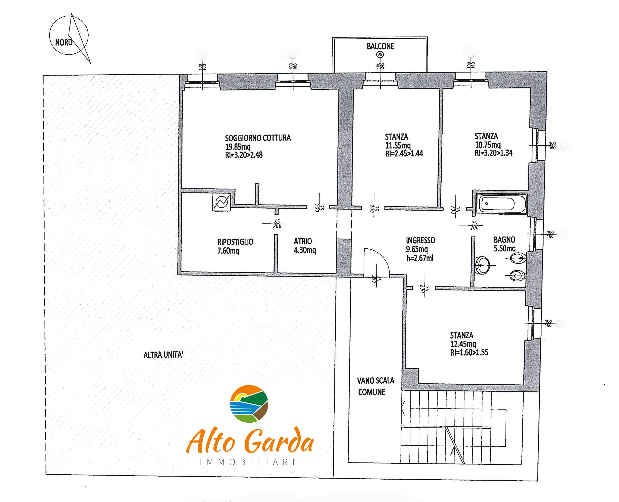 145-planimetria-Alto Garda Immobiliare