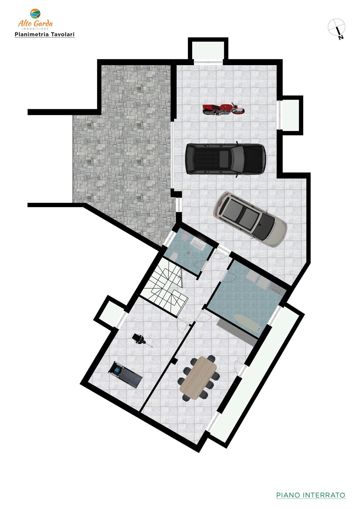 Piano interrato-Alto Garda Immobiliare