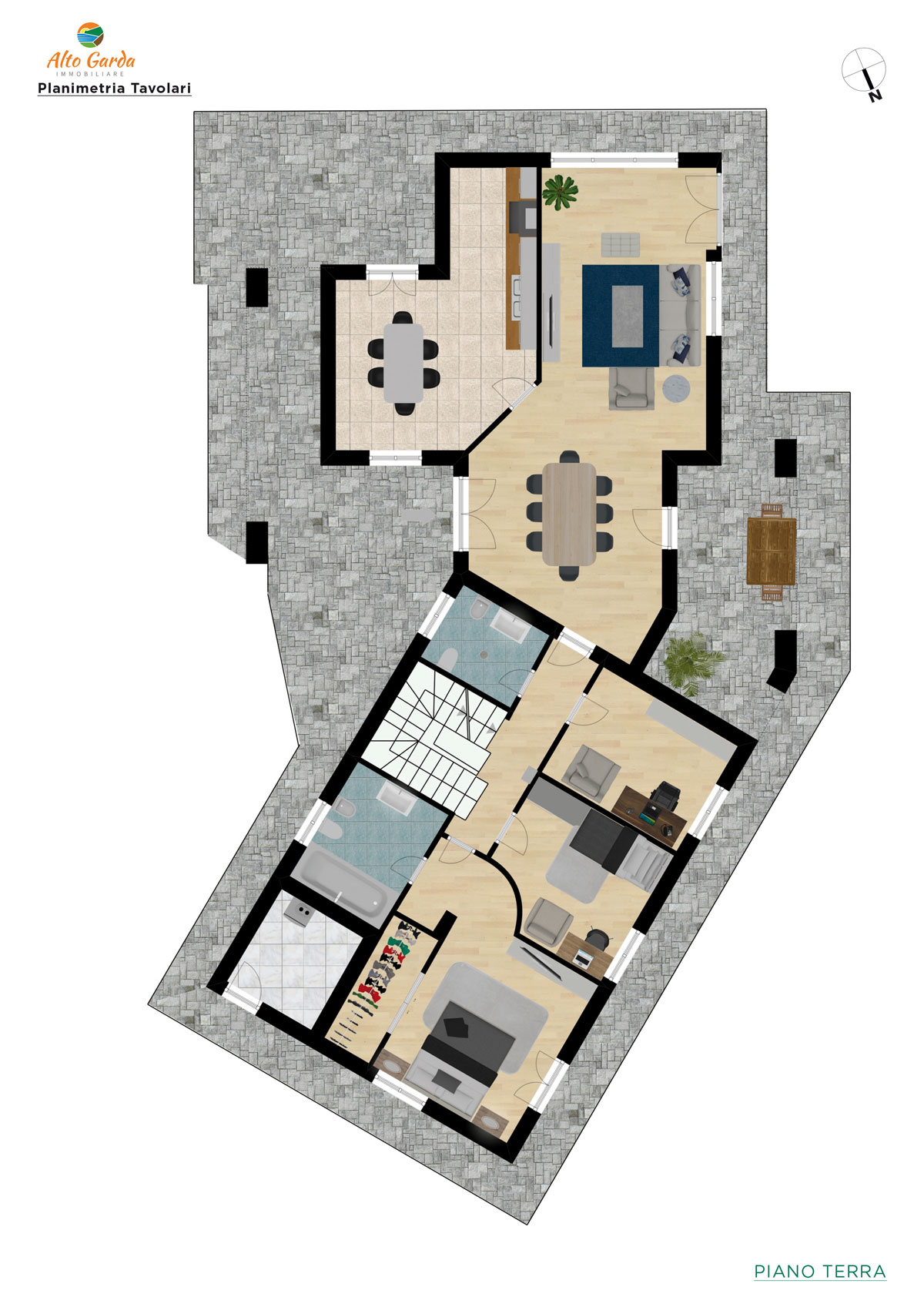 Piano terra-Alto Garda Immobiliare