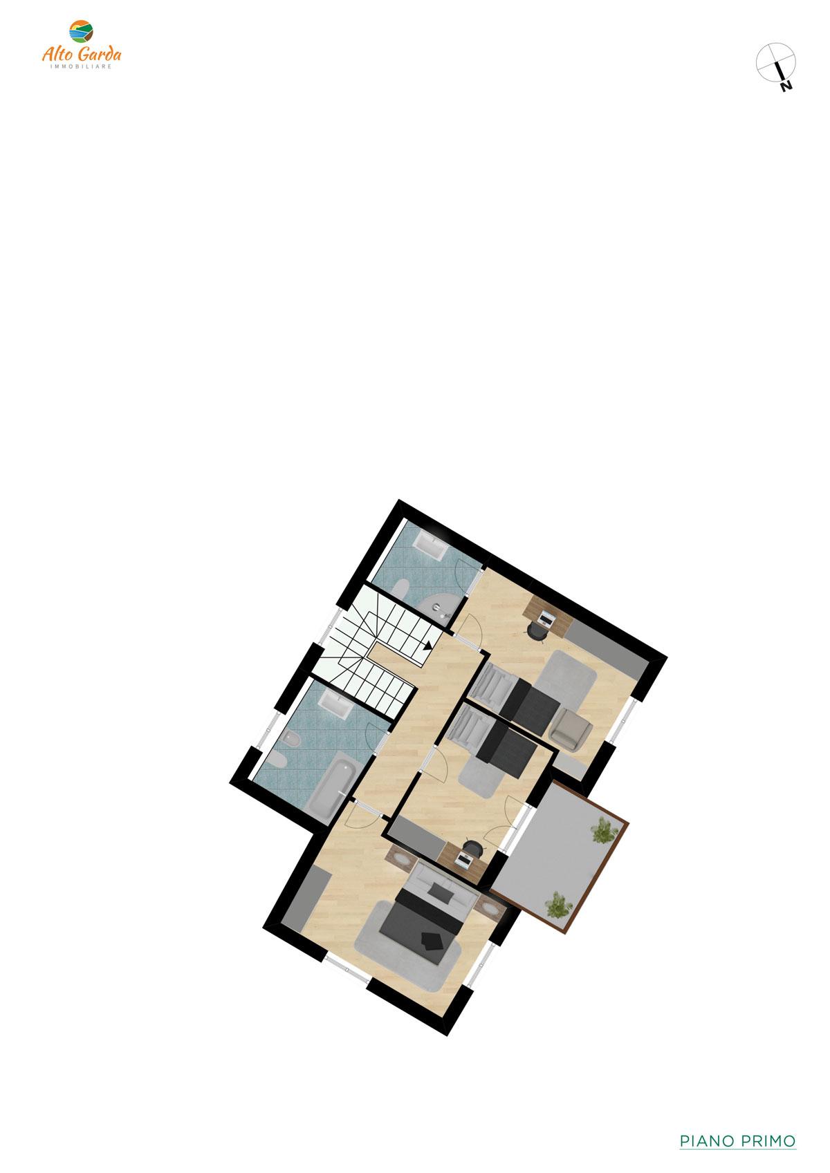 Piano Primo-Alto Garda Immobiliare