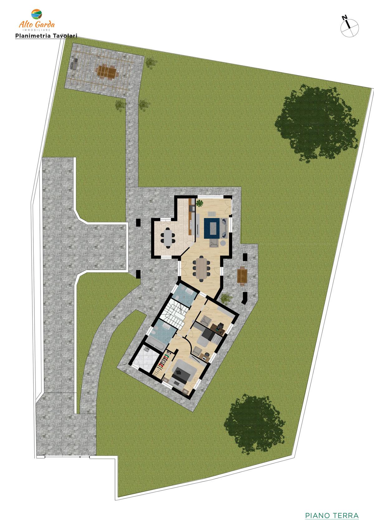 Piano Terra + Giardino-Alto Garda Immobiliare