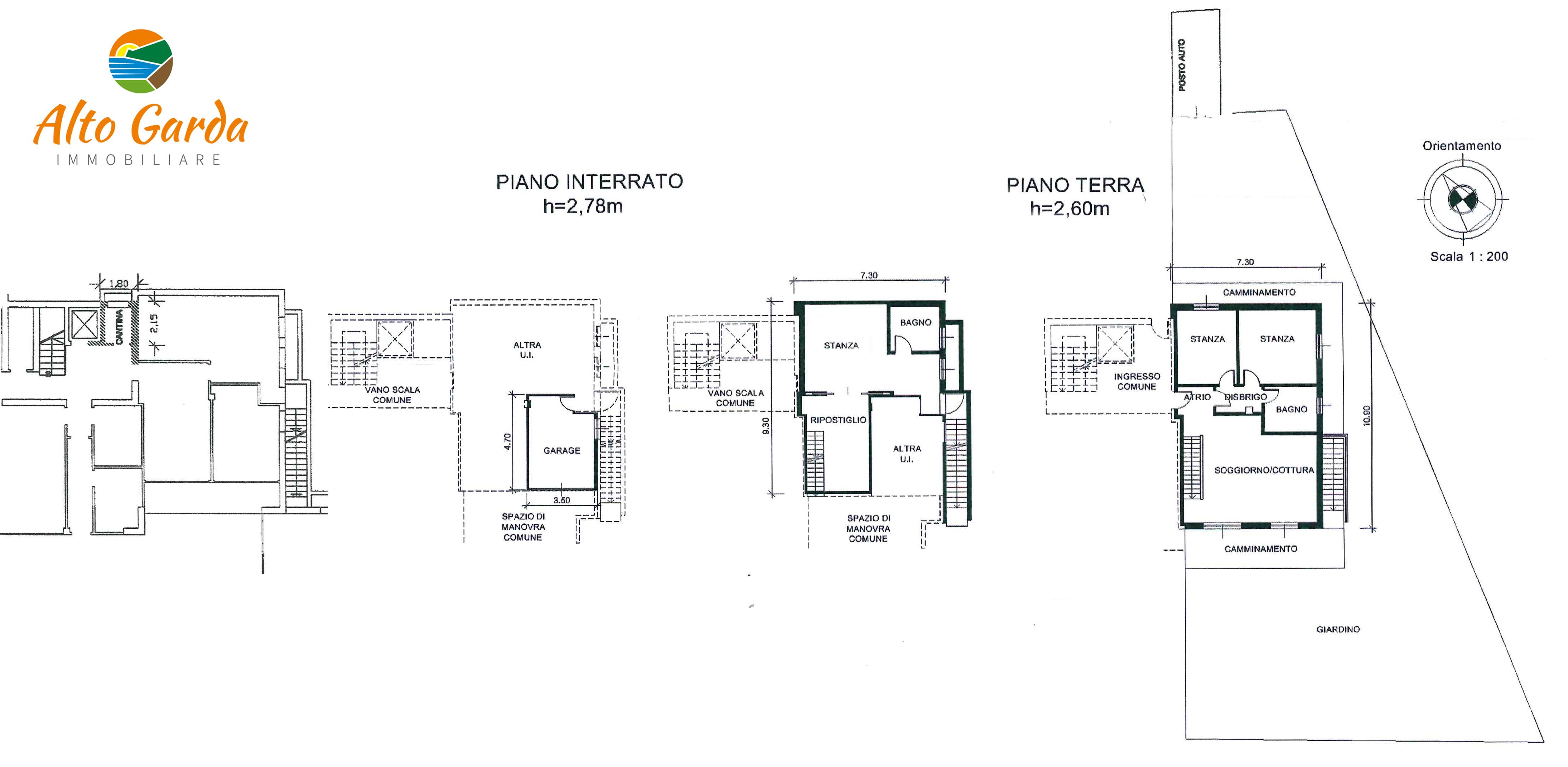 203-planimetria-Alto Garda Immobiliare